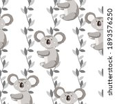 seamless pattern with cute... | Shutterstock .eps vector #1893576250
