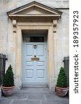 front door of a beautiful... | Shutterstock . vector #189357923