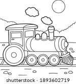 cute and funny coloring page of ... | Shutterstock .eps vector #1893602719