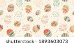 lovely hand drawn seamless... | Shutterstock .eps vector #1893603073