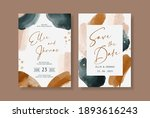 elegant abstract watercolor on... | Shutterstock .eps vector #1893616243