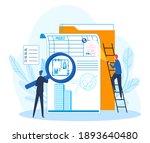 lawyer jurist legal expert of...   Shutterstock .eps vector #1893640480