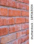 Angle View Of Brick Wall...