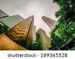 downtown atlanta  georgia usa... | Shutterstock . vector #189365528