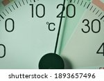 Close Up Of Thermometer ...