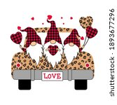 Buffalo Plaid Valentines...