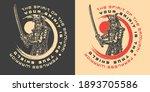 samurai vintage monochrome...   Shutterstock .eps vector #1893705586