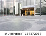 entrance of modern office... | Shutterstock . vector #189372089