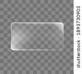 transparent glued rectangle... | Shutterstock .eps vector #1893730903
