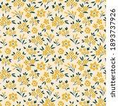 trendy seamless vector floral... | Shutterstock .eps vector #1893737926