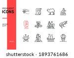 ancient egypt   modern line...   Shutterstock .eps vector #1893761686