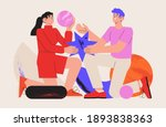 people organize abstract...   Shutterstock .eps vector #1893838363