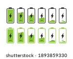 set of batteries with different ...   Shutterstock .eps vector #1893859330
