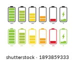 set of batteries with different ...   Shutterstock .eps vector #1893859333