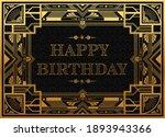 gatsby birthday greetings... | Shutterstock .eps vector #1893943366