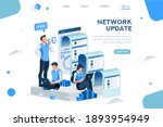 seo agency blog for communicate ... | Shutterstock .eps vector #1893954949
