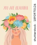 vector illustration with woman... | Shutterstock .eps vector #1893970126