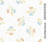 Small photo of Cute rainbow scribble doodle background. Hand drawn whimsical motif seamless pattern. Naive simple crayon style for minimal baby fashion, nursery decor, unisex kid scrapbook paper.