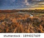 Autumn Nature. Landscape Of...