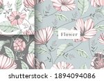 hand painted pastel colour... | Shutterstock .eps vector #1894094086