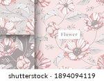 hand drawn beautiful pastel... | Shutterstock .eps vector #1894094119