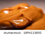 Closeup Of Dulce De Leche...