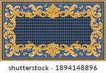 bandana print on a black and... | Shutterstock .eps vector #1894148896