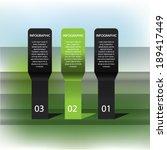 modern design template can be... | Shutterstock .eps vector #189417449