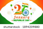 26 january  indian republic day ... | Shutterstock .eps vector #1894209880