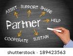 partner   business concept | Shutterstock . vector #189423563