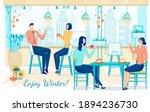 enjoy winter banner template.... | Shutterstock .eps vector #1894236730