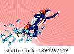 business progress   confident... | Shutterstock .eps vector #1894262149
