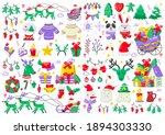 christmas label vector logo for ... | Shutterstock .eps vector #1894303330