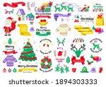 christmas label vector logo for ... | Shutterstock .eps vector #1894303333