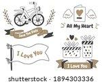 valentine label vector logo for ...   Shutterstock .eps vector #1894303336