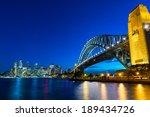 sydney harbour bridge   sydney... | Shutterstock . vector #189434726