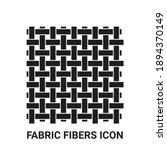 cloth fabric textile fibers icon | Shutterstock .eps vector #1894370149