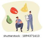 nutrition diet plan....   Shutterstock .eps vector #1894371613
