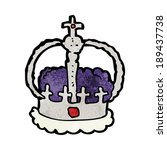 cartoon crown | Shutterstock .eps vector #189437738