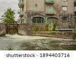Middle River With The Sluice At ...