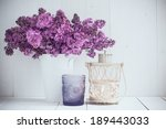 Bouquet Of Lilac Flowers In...