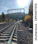 Russian Railway In Siberia ...