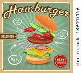 delicious best choice retro... | Shutterstock .eps vector #189449156