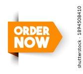 vector illustration order now...   Shutterstock .eps vector #1894508410