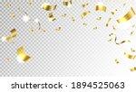 falling shiny golden confetti....   Shutterstock .eps vector #1894525063