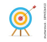 target in front view with an... | Shutterstock .eps vector #1894526413