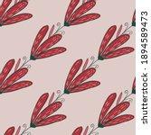 abstract botanic bloom seamless ...   Shutterstock .eps vector #1894589473