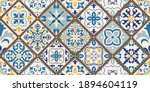 seamless colorful patchwork...   Shutterstock .eps vector #1894604119