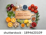 Set Of Natural Products And...