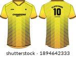 sports jersey t shirt design...   Shutterstock .eps vector #1894642333